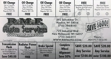Car Care Discounts